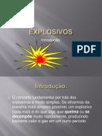 Explosivos introdução.