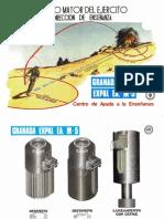 Granada Expal EA M-5 - Laminas (1978)