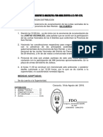Nota Informativa Nº 230 Juramentacion de Las Jjvv