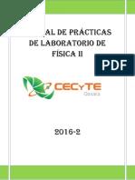 Manual de Prácticas de Laboratorio de Física II