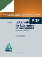 La Canasta Basica de Alimentos en Centroamerica Revision de La Metodologia.
