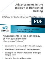 Advancements Technology Horizontal Drilling