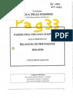 2016 29 Dicembre Bologna Sindaco Bilancio Previsione 2016 Nota 17259 14 12 2016 Parere Revisori Dei Conti Esclusiva Ipotesi Che l'Ente Faccia Ricorso Al 243 Bis