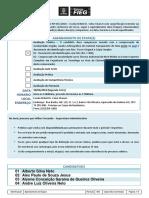 Agendamento de Etapas Avaliacao Teorica PRS 0152018 SENAI CHARURI