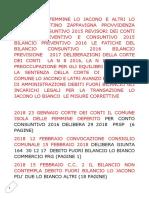 2018 Isola Delle Femmine Lo Jacono Lo Bianco Agostino Bilancio Consun 2015 Revisori Dei Conti Bilancio Prev e Consun 2015 Bilancio Prev 2016 Le Fatiche Del Bilancio 2016