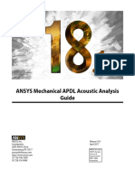 Ansys acoustic analysis