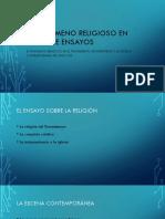 Religion en Mariategui - Ago 2018