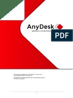 Manual de Utilizare AnyDesk