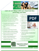 What Does Title Ins Protect You From-Equity