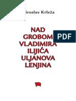 Miroslav Krleza Nad Grobom v i Lenjina