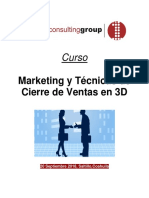 Curso Marketing y Técnicas de Cierre de Ventas en 3D-First Consulting Group(2)