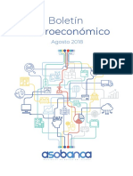 Boletín Macroeconómico - Agosto 2018
