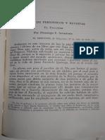 Gutiérrez, Juan María, El Facundo y Carta a Alberdi