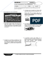 evaluacion diagnostica de mate 2°