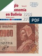 Un siglo de economía en Bolivia