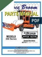 350 Series Broce Broom Parts