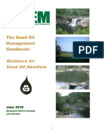 Guidance for Used Oil Handlers Alabama