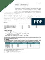 Risco e Retorno AULAS E GABARITOS DOS EXERCICIOS.pdf