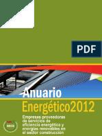 Anuario Energetico 2012