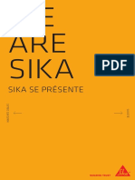 Fr Brochure We Are Sika