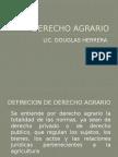 Derecho Agrario Presentacion 1