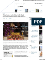 20140210 China Bought, Produced Record Amounts of Gold in 2013 - WSJ