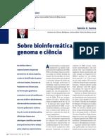 Francisco Prosdocimi e Fabrícia Santos - Sobre Bioinformática, Genoma e Ciência
