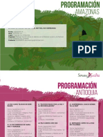 Programación Semana Por La Paz Para