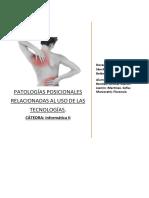 Patologías posicionales