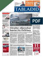 Fréttablaðið the Icelandic newspaper with the largest circulation 13/12/2005