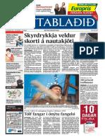 Fréttablaðið the Icelandic newspaper with the largest circulation 14/12/2005