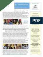 2015 December Newsletter