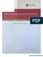 Derecho Administrativo General, de Jorge Bermúdez