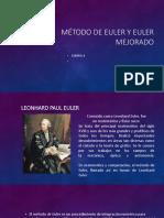 6. Metodo de Euler y Euler Mejorado Version 2.1