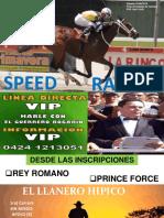 Speed Sabado 25-08-2018