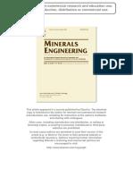 1. Optimization of Heap Leaching