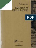 Paradojas de La Letra