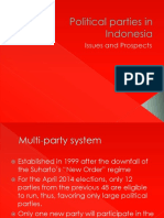 Political Parties in Indonesia