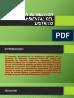 Plan de Gestion Ambiental Del Distrito