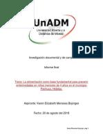 Investigación Documental y de Campo. Inform Final, Sesion 8 Actv 1