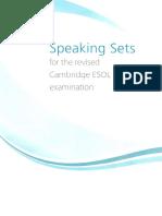 Speaking FCE 1