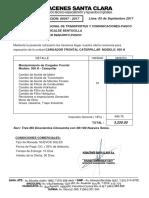Cotizacion Serivicio Cargador Frontal