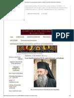 Los Fundamentos de La Psicoterapia Ortodoxa _