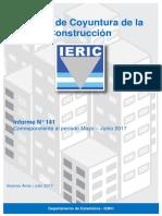 Informe de coyuntura de la construcción N 141
