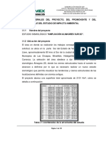 MANIFESTACIÓN DE IMPACTO AMBIENTAL ALMAGRES SUR 2D