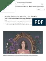 _Paulina Es La Estrella en La Casa de Las Flores _ DiabloG