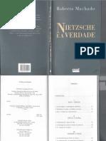 A Vontade de Verdade - Roberto Machado (Nietzsche e a Verdade, 2002).PDF
