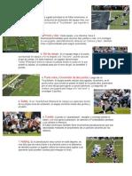 10 Reglas Del Futbol Americano
