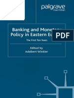 Banking and Monetary Policy in Eastern Europe the First Ten Years