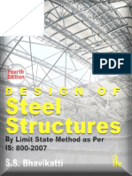 Design of Steel Structures_ by - S.S Bhavikatti